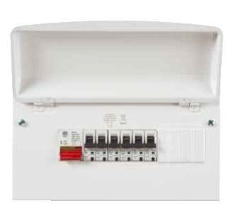main switch consumer unit