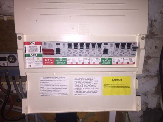 electrical consumer unit  a fuse box