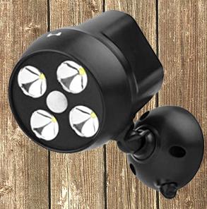 Motion sensor lights